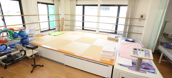 3階リハビリテーション室(畳み)