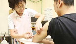 予防接種のイメージ